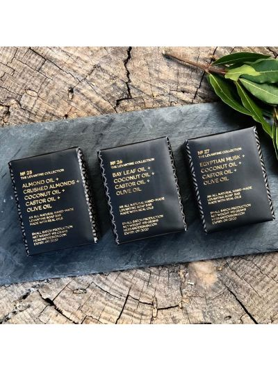 Herb + Design No 26 ALMOND OIL Soap - Pack of 3