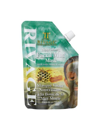 Rivage Nourishing Facial Mud Mask Rich With Honey Extract Pouch 500g