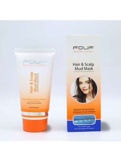 FOUF Hair & Scalp Mud Mask 175ml
