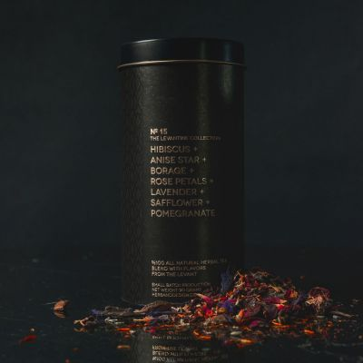 Herb + Design No. 15 Tea - Hibiscus, Anise Star, Borage, Rose Petals, Lavender and Safflower (best served as iced tea).