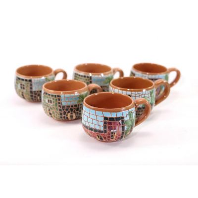 Arabic (Turkish) Coffee set (6+6pcs)