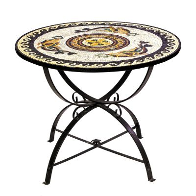 Handmade Arabesque Mosaic Table 2