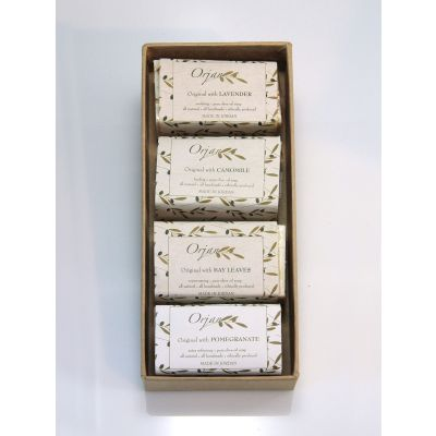 'Garden Mix 1' olive oil soaps - 4 pack