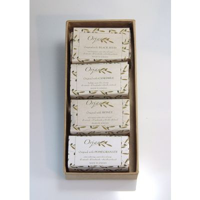 'Garden Mix 3' olive oil soaps - 4 pack