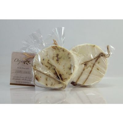 Herbal Scrub Soap Disks - 2 Pack