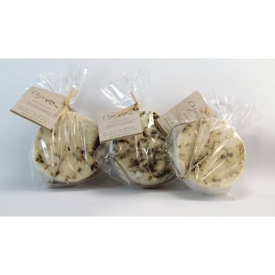 Herbal Scrub Soap Disks - 3 Pack