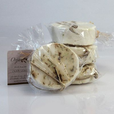 Herbal Scrub Soap Disks - 4 Pack