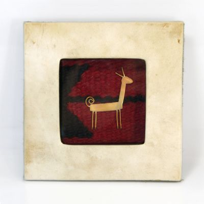 Copper Nature Box - Single Deer (Large)