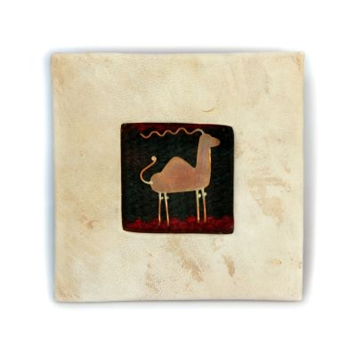 Copper Nature Box - one Camel figure (Small)