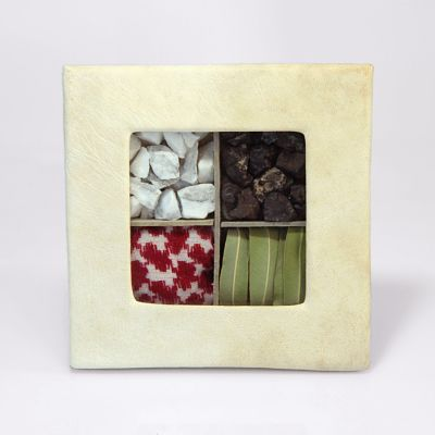 """Piece of Jordan"" Souvenir Box - with shmagh, oleander and pebbles (Small)"