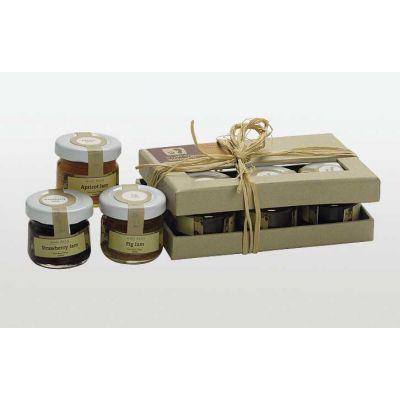 Wild Jordan Jams - assorted set of 6 mini jars