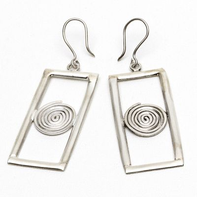 Handmade Silver Earrings 1