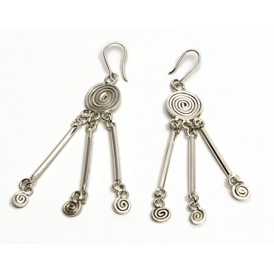 Handmade Silver Earrings 3