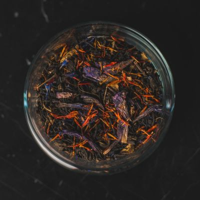 Herb + Design No. 13 Tea - Black Tea, Green Tea, Safflower, Borage and Citrus Peel
