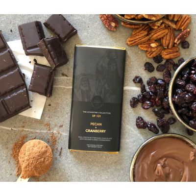 Herb + Design No 101 Pecan + Cranberry +  Milk Chocolate Bar 100g