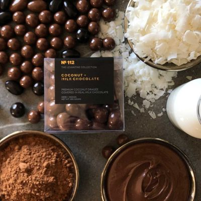 Herb + Design No 112 Coconut Milk Chocolate Dragée 250g