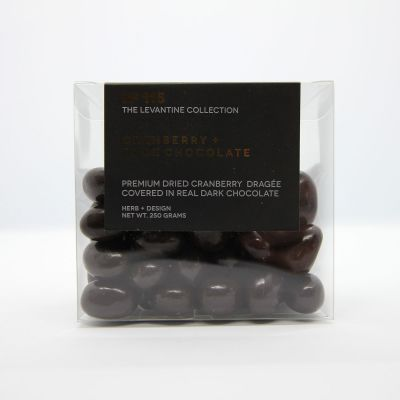 Herb + Design No 115 Cranberry + Dark Chocolate Dragée 250g