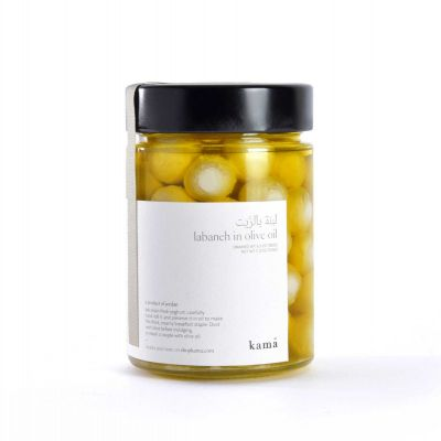 Kama - Labaneh Plain in Pure Olive Oil. Net weight 310g.