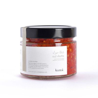 Kama -Red Shatta (Red Chili Peppers) Paste - 250g