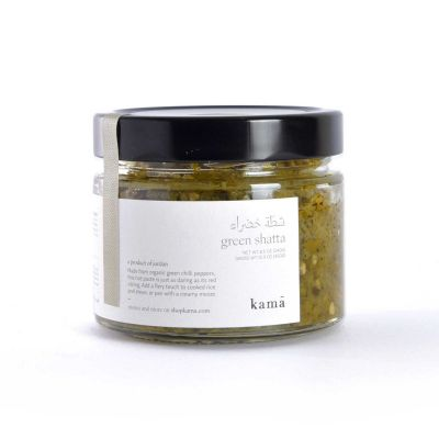 Kama - Green Hot Pepper (Green Chili Peppers) Paste - 250g