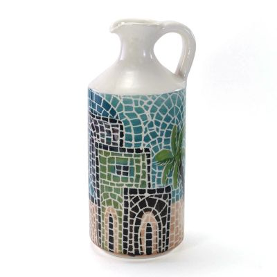 Handmade large ceramic jug
