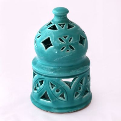 Tkiyyeh Handmade ceramic candle holder - Large