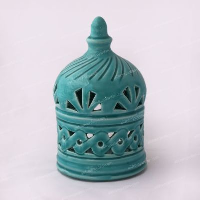 Tkiyyeh Handmade ceramic candle holder - Small