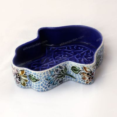 """Hand of Faitma"" Handmade ceramic serving plate - Small"