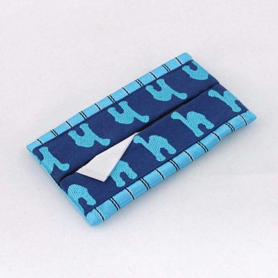 Embroidered tissues wallet