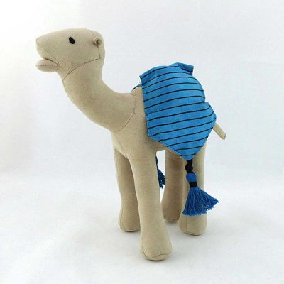 Stuffed Velvet Camel Doll - Medium sized