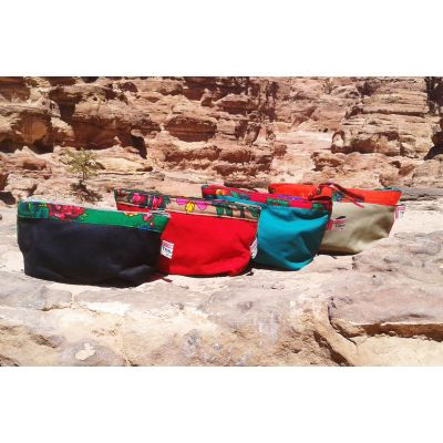 Tribalogy Bedouin flower make up bags