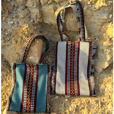 Tribalogy Bedouin cloth tote bag