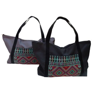 Joria® traditional Jordanian embroidered travel bag