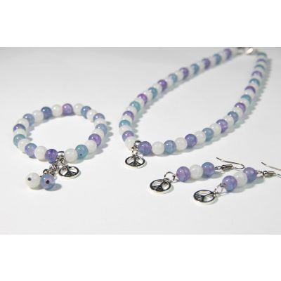 The Tranquility Healing Crystal Handmade Accessories Set
