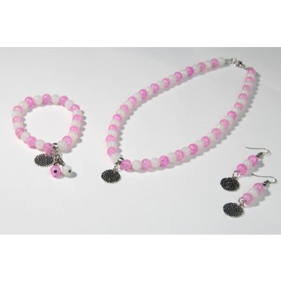 The Rosy Healing Crystal Handmade Accessories Set