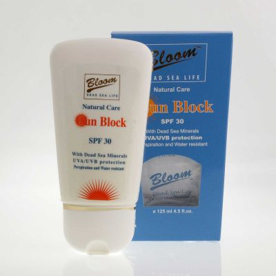 Bloom Sun Block 125ml SPF30 Cream