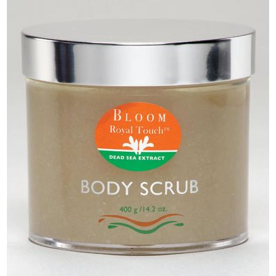 Royal Touch® Body Scrub Lavender 400g/14.2 oz Jar