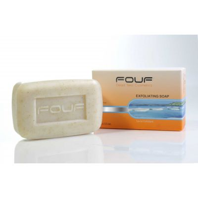 FOUF Dead Sea Exfoliating Soap 100g