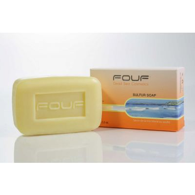 FOUF Dead Sea Sulfur Soap 100g