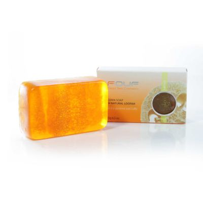 FOUF Dead Sea Glycerine Soap with Natural Loofah 185g