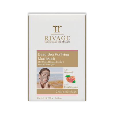 Rivage Dead Sea Purifying Mud Mask - Cleansing Mask (25g X 4)