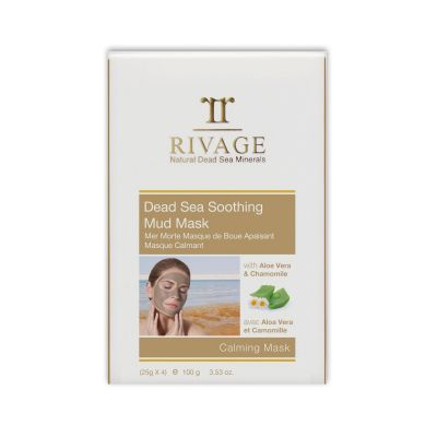 Rivage Dead Sea Soothing Mud Mask - Calming Mask (25g X 4)